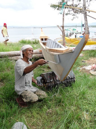 2015 Philippines Boat Rebuilding Project