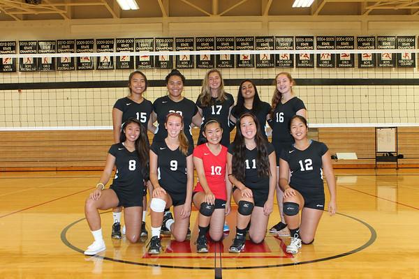 2013 Varsity II Girls Volleyball