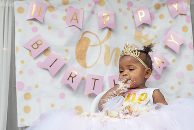 Summer's First Birthday Party