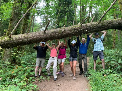 SUV Group Hike - July