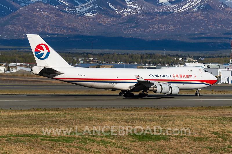 China Cargo 747-400 - B-2426 - ANC