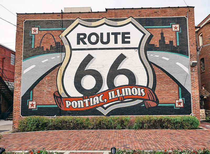 Route 66 - Pontiac