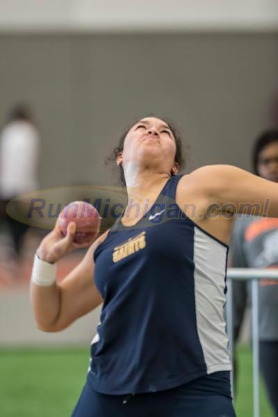 WHAC Indoor Track 2017 - Women's Shot Put