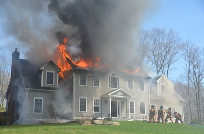 Structure Fire - Unknown Address, Colchester, CT - 4/17/14