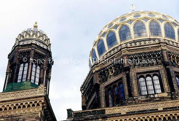 GERMANY, Berlin. Oranienburger Synagogue. (2004)