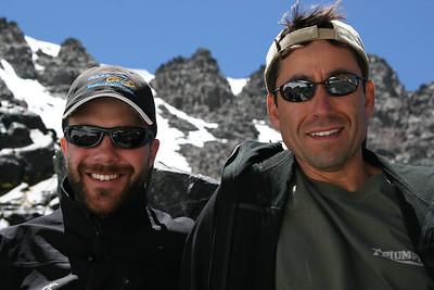 Pierson and Rob in Ansel Adams Wilderness/Yosemite