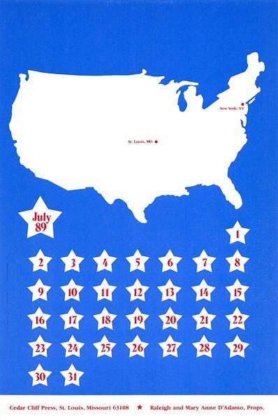 July, 1989, Cedar Cliff Press
