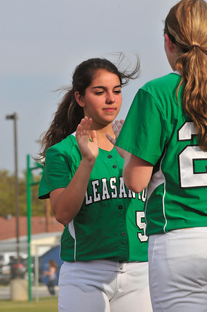 Pleasanton vs Poteet Softball