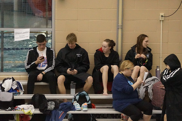 Racer Swimming - State Meet