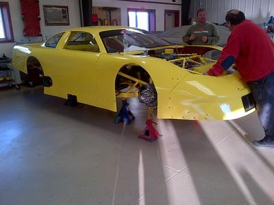 RMR/ RC Moore  Race shop pictures 2012