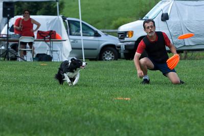 Bolton Fair 2009 - New England Disc Dog Club