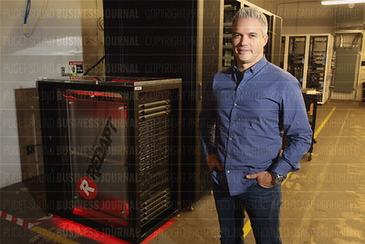Redapt chief executive officer Rick Cantu is pictured in his company headquarters in Redmond, Wash.