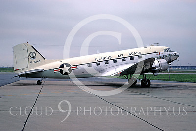 Air National Guard Douglas C-47 Skytrain Military Airplane Pictures