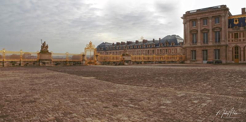 Versailles hiver