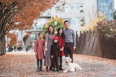 Helen Chang Family Fall 2018
