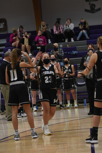 LUHS Girls' Basketball at Mosinee January 26, 2021