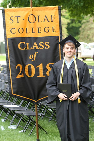 St Olaf College Commencement May 27 2018