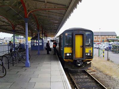 Ipswich to Felixstowe