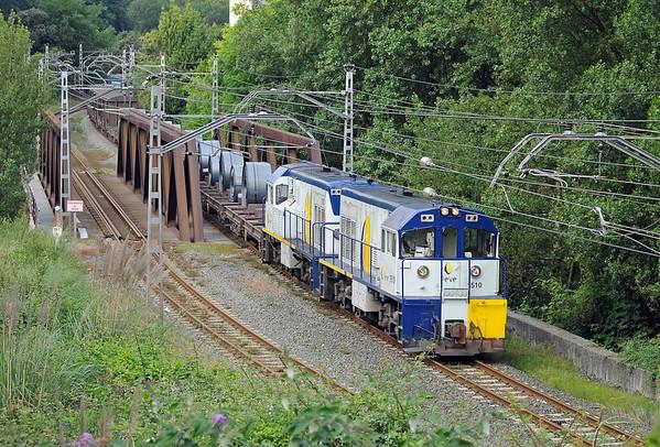 El Hullero – metre gauge freight in Northern Spain