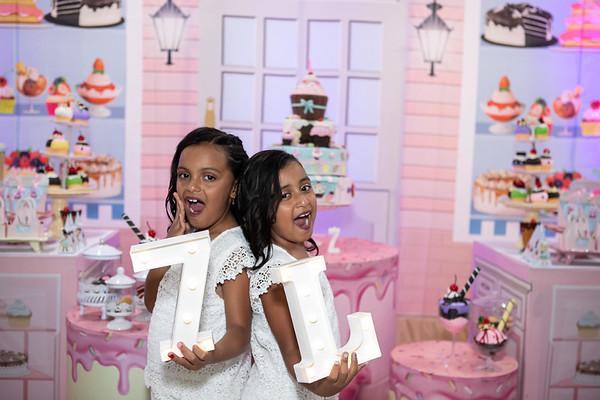 Aniversário 7 anos Larissa e Letícia