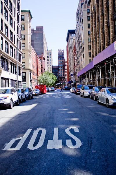 Stop in New York City