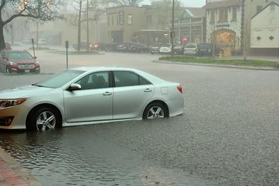 Heavy Rain at Kirkwood Station