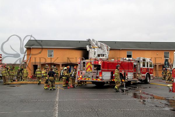 04.14.15 Rodeway Motel Fire in East Lampeter