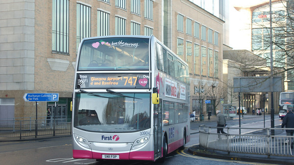 First Glasgow Enviro 400MMC