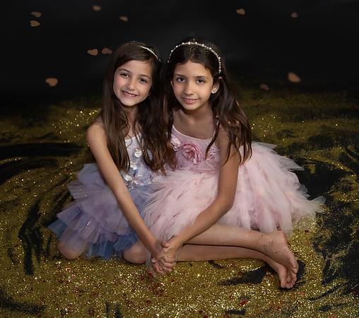 The Alvarez Girls Glitter Session