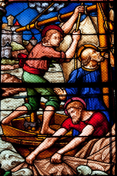 Chalons-en-Champagne Cathedral, Peter Being Called by Christ