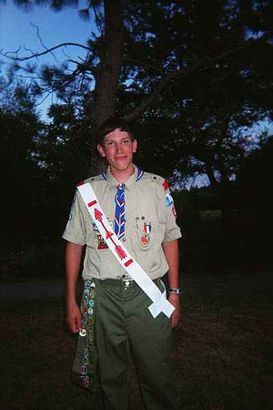 Vigil Ceremony, Robert Liston, August 2000