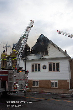 12/22/2012, 3rd Alarm Church, Millville City, Cumberland County, In His Presence Worship Center, 222 E Broad St.