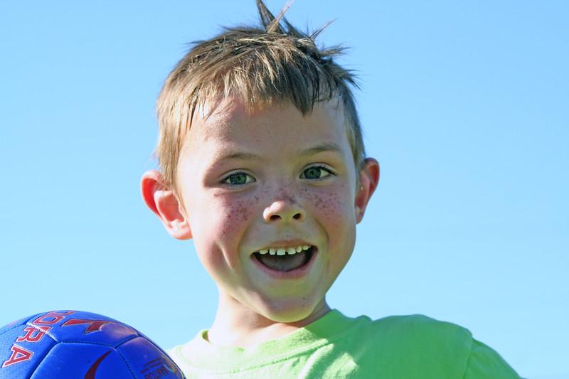 Soccer happy!