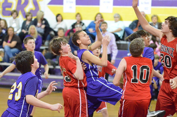 7th NW Pioneers vs Sonoraville 1-27-15