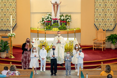 First Holy Communion May 1 and 2