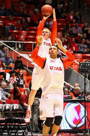 U of U Men's Basketball vs Arizona • 02-19-2014