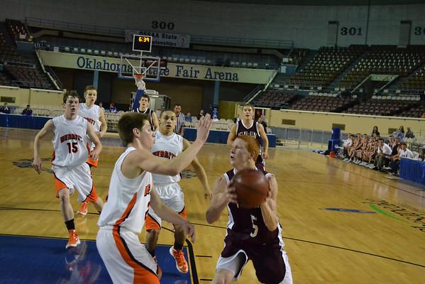 2011 Class A State Basketball Quarterfinals Velma-Alma Vs. Merritt (At Oklahoma City)