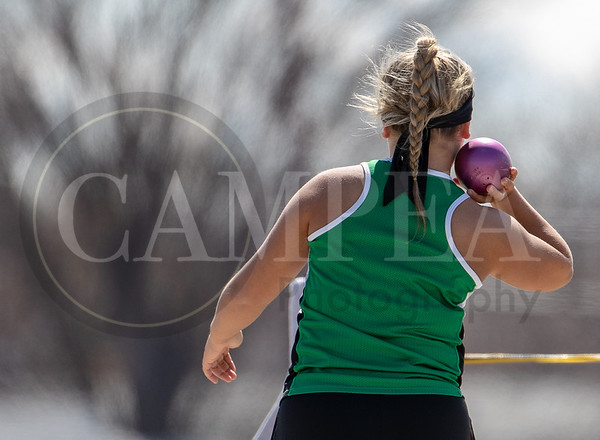 Bob Judson Invitational Track Meet in Pierre - April 2 2019