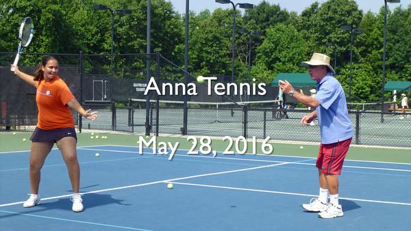 Anna May 28 Tennis