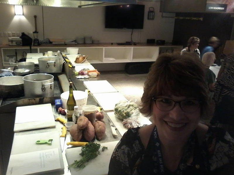 Cooking class at Sunterra Market in Calgary - made a turducken!  September 18, 2017