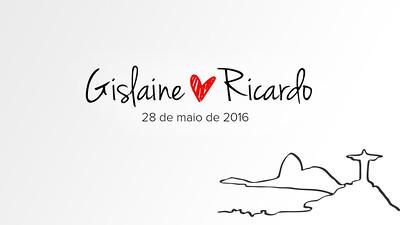 Gislaine & Ricardo 28-05-16