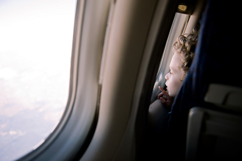 This boy sat in front of me on the flight to Manchester. This was my photo of the day for this day.