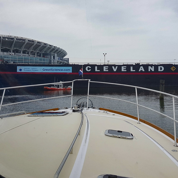 Friday, July 22 Bumboat departs Cleveland