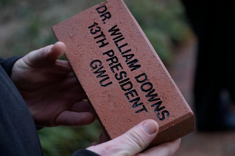 Dr. Downs Brick Instillation