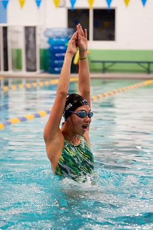 MHS Girls Swim-Practice Action 2018