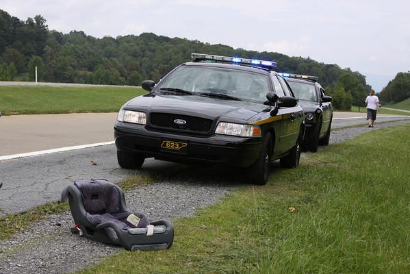 Car Seat on I-26