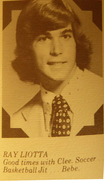 Ray's yearbook photo. Ray Liotta graduated with the class of 1973 and is an award winning actor known for TV and movies such as Shades of Blue, Good Fellas and Copland.  https://en.wikipedia.org/wiki/Ray_Liotta