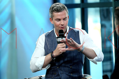 """NEW YORK, NY - AUGUST 03:  Ryan Serhant visits Build discussing his show """"Million Dollar Listing New York"""" at Build Studio."""