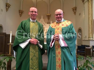09-27-15 NEWS, Father Eric Instillation, TM