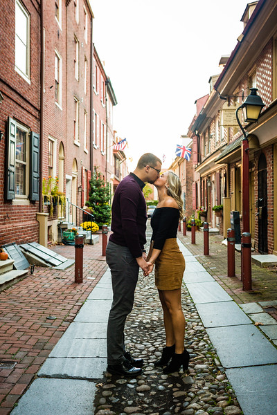 MICHELLE AND NICK - OLD CITY ENGAGEMENT SESSION - 9.jpg